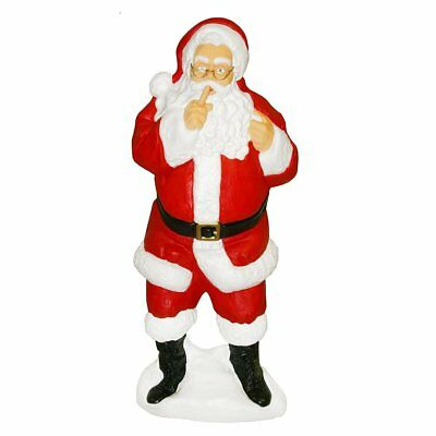 #2 DENTED Blow Mold Plastic Yard Christmas Decor outdoor Light Santa Claus new