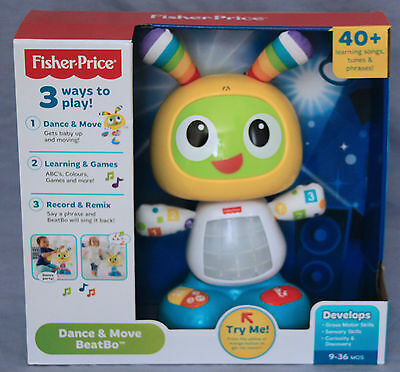 Fisher Price Bright Beats Dance and Move Beatbo - Ages 9 mos +