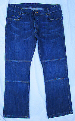 Triumph Motorcycle Denim Riding Blue Jeans Size 40/50 Regular Leg Factory Parts