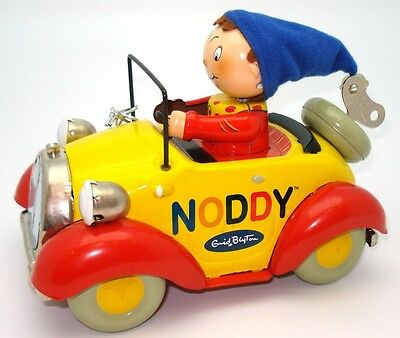 Noddy Toys Museum Wind-Up Tin Car - Ultra Rare - New In The Tin!