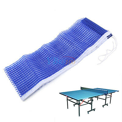 Blue Sport Useful Table Tennis Ping Pong Replacement Net Standard Ping Pong Mesh