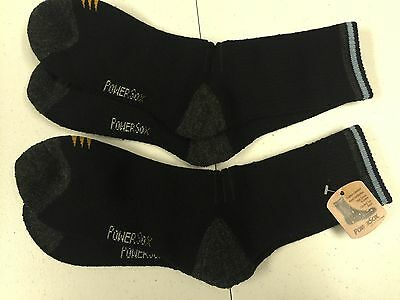 2 Pair of Women's Power Sox merino wool Medium