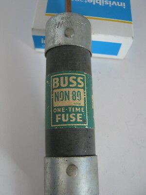 Set of 2 Buss NON 80 80 Amp one-time fuse vintage used