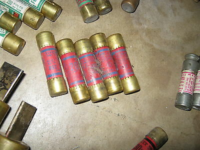 A set of various ITT 20 Amp and 30 Amp onetime fuse vintage used