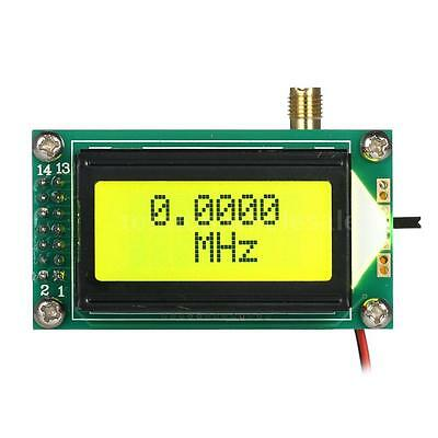 New Digital LCD 1-500MHz Range Frequency Counter Tester Meter High Accuracy O9S6