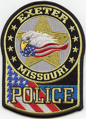 Exeter Missouri Mo Police Patch