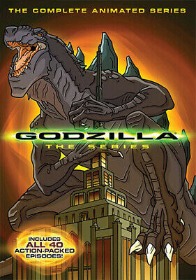 Godzilla: The Complete Animated Series [4 Discs] (2014, REGION 1 DVD New)