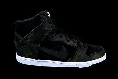 best website 9feb8 9e7bb Nike Dunk High Pro SB CAMO Sz 7.5-12 IGUANA BLACK 305050-205