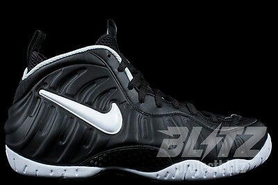 Nike Air Foamposite Pro Dr. Doom Sz 7-11  Black White 624041-006