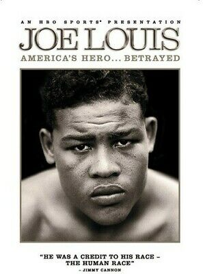 Joe Louis: America's Hero... Betrayed (2012, REGION 0 DVD New) DVD-R