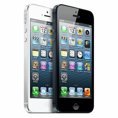 New in Sealed Box Factory Unlocked APPLE iPhone 5 4s Black White 4G Smartphone
