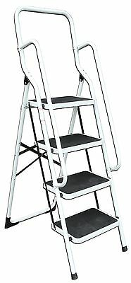 Good Ideas 4 Step Ladder with Safety Rail Ladders & Steps