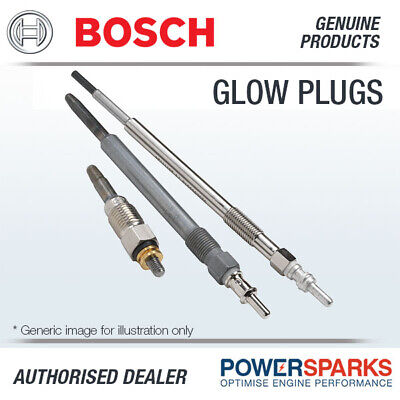 0250403012 GENUINE BOSCH GLOW PLUG (x1) SHEATHED-ELEMENT for DIESEL ENGINE