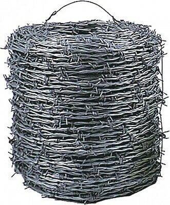 BARBED WIRE Galvanised 2.5 Mm 200m Garden accessories Fence mesh Iron