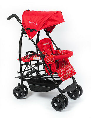Kinderwagon - Jump Single Stroller for One or Two - Red - Brand New!!