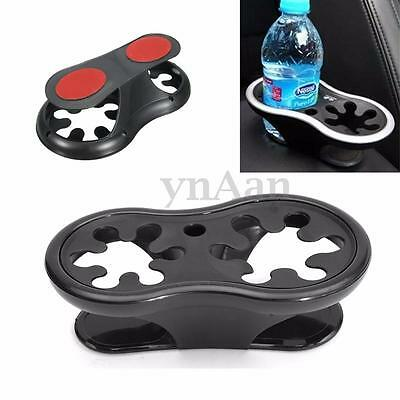 2 Cup Holder Auto Coche Truck Bebida Botella Soporte Dual Wedge Mount Stand New