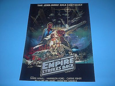 Star Wars The Empire Strikes Back Poster Pin Up