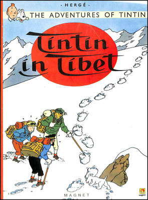 Tintin In Tibet (The Adventures Of Tintin) by Herge