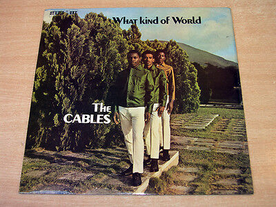 EX- !! The Cables/What Kind Of World/1970 Studio One LP/Reggae