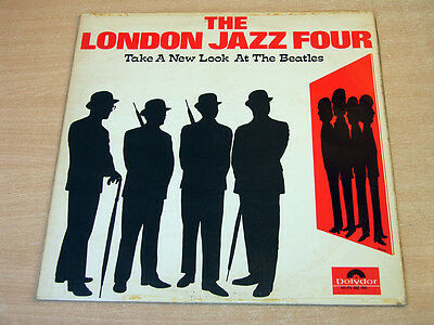 EX- !! The London Jazz Four/Take A New Look At The Beatles/1967 Polydor LP