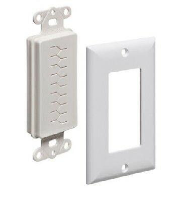 ARLINGTON CED130WP With Plate Cable Entry Device 1-Gang - 10 Pack