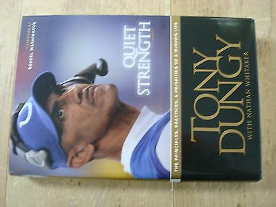 "Tony Dungy hand Signed autographed ""Quiet Strength"" Book, auto SGC authentic"
