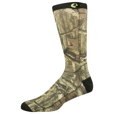 2 Pair of Mossy Oak Adults' Hunt Sublimated Camo Crew Socks