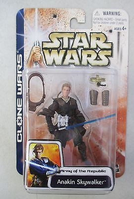 Moc 03 Star Wars Clone Wars Army Of The Republic Anakin Skywalker Action Figure