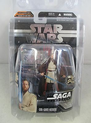 Moc 2006 Star Wars Iii Ultimate Galactic Hunt Obi-Wan Kenobi W/ Hologram Figure