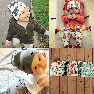Toddler Kids Girl Boy Baby Infant Winter Warm Cute Cotton Hat Beanie Fashion Cap