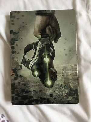 Tom Clancy's SPLINTER CELL BLACKLIST 5th Freedom STEELBOOK BOX For Up To 3 Discs