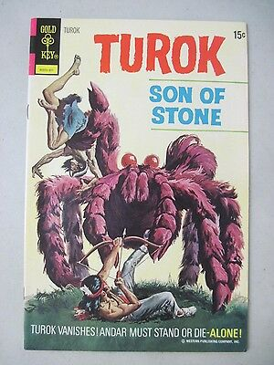 Turok Son Of Stone #82 Gold Key Comics Indians And Dinosaurs
