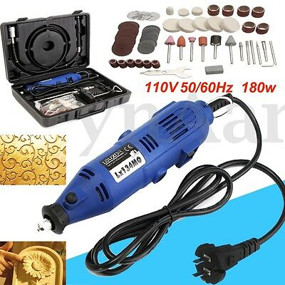 220V 180W Electric Grinder Variable Speed Polishing Rotary Power Tool Compatible