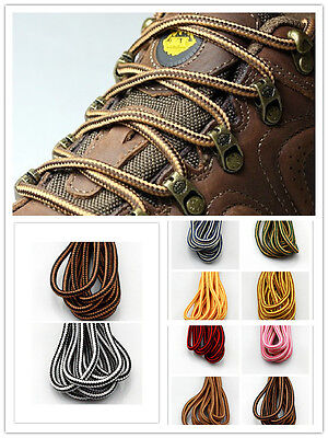 Mr Niscar Shoe Laces Round Bootlaces Walking Boot Hiking Strong Laces 4mm wide