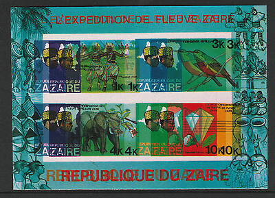 Zaire (265) 1979 River Expedition Spectacular DOUBLE PRINT error (ex archives)