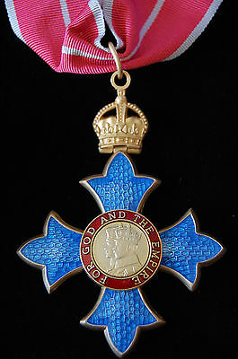 Order Of The British Empire Cbe Neck Badge, Medal