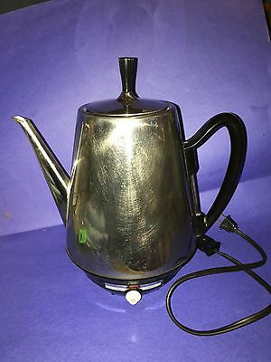 Vtg. Sunbeam AP-CE CoffeeMaster Percolator 12 Cup Fully Automatic Strength Dial
