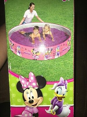 "Minnie Mouse / Daisy Duck Fill 'n Fun  Pool  ~~ 6 Ft  X  15"" ~~"