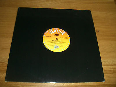 "Kiss-Hide your heart.12"" promo"