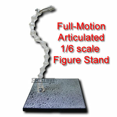 1/6 12 scale articulated action figure or barbie doll stand hot toys sideshow