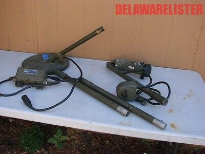 US Military Lot of WWII WW2 Mine Detecting Units for Parts or Restoration