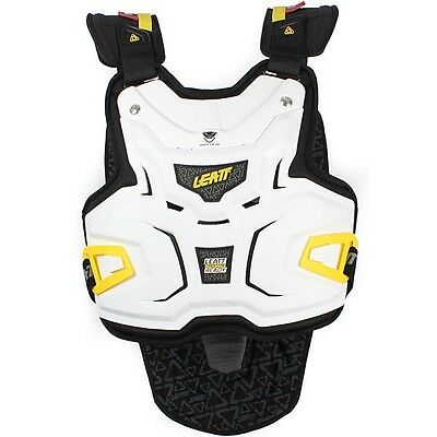 Leatt Adventure Body Vest Lite Body Armour Brace White Large / Extra Large L Xl