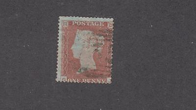 Great Britain # 14 Very Lightly Used Penny Red Cat Value $110