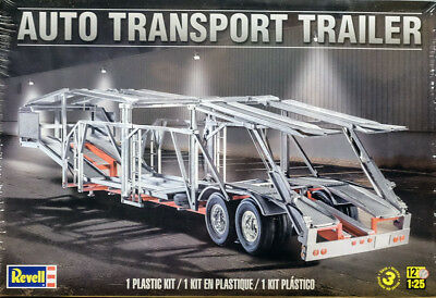 Auto Transport Trailer Anhänger 1:25 Model Kit Bausatz Revell 1509