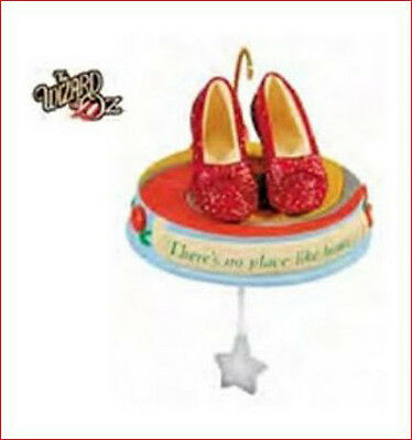 2011 Hallmark WIZARD OF OZ Ornament IT'S ALL IN THE SHOES Ruby Slippers LQ/SE