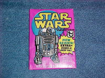 1977 Topps Star Wars 3Rd Series Wax Pack Unopened... Inv. # 0170