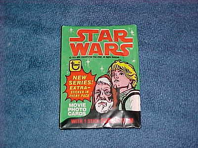 1978 Topps Star Wars 4Th Series Wax Pack Unopened... Inv. # 0171