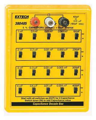 EXTECH 380405 Capacitance Decade Box, 5 Decades
