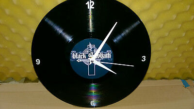 BLACK SABBATH Greatest Hits VINYL LP  Wall Hanging Clock  Gift/Decoration