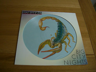 "Scorpions-big city nights.12"" picture disc."